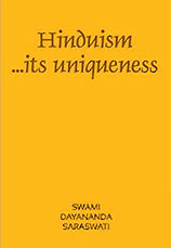 Hinduism ... its uniqueness